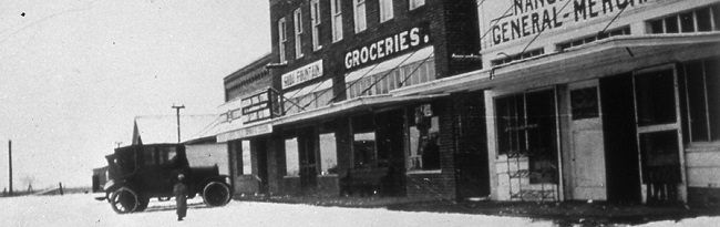 Downtown Addison in mid-1920s